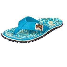 GUMBIES Islander Canvas Thongs Women turquoise
